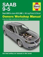 SAAB 9-5 SHOP MANUAL SERVICE REPAIR BOOK HAYNES CHILTON TURBO 95 2006 2010