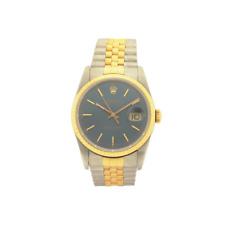 Rolex 36mm Datejust 16233 18kt Quick Set E Serial Watch