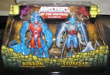 Mattel Masters of the Universe Classics Rokkon and Stonedar 2 Pack New