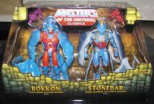 Mattel Masters of the Universe Classics Rokkon and Stonedar 2 Pack New
