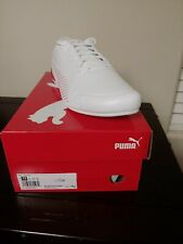 MENS PUMA FERRARI SF DRIFT CAT 7S ULTRA F1 WHITE SCUDERIA RACING SHOES SZ 13
