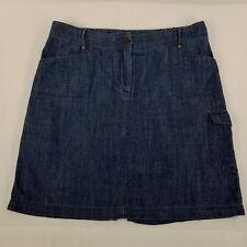 Chico's Jean Skirt Denim Blue Size 1.5 Medium 10
