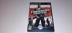 Freedom Fighters (Sony PlayStation 2, 2003) PS2 Video Game Complete CIB Tested