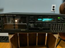 Vector Research Vcx-650 3 Head 3 Motor Cassette Deck