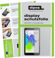 2x Pixus Touch 7 3G Schutzfolie matt Displayschutzfolie Folie Display Schutz