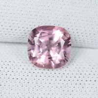 1.15 ct BEAUTIFUL SPARKLING - NATURAL PINK SPINEL - SQ Cushion_See Vdo # 5132  H
