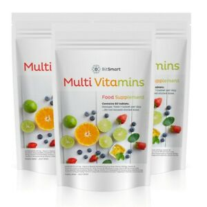 Multi Vitamin & Minerals Healthy Dietary Tablets Multi-vitamin Supplement Pills