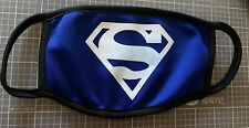 Superman Logo Protective Face Mask with Filter Washable & Reusable