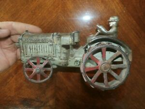 Antique Arcade Cast Iron Toy Model McCormick Deering Tractor Parts Restoration