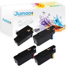 Lot de 4 Toners d'impression type Jumao Noir, Cyan, Jaune,Magenta pour Dell E525