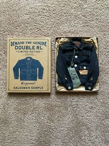 RRL Double RL Mini Denim Jacket Salesman Sample #23 Of 100