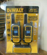 NEW!! Dewalt Heavy Duty Walkie-Talkie Two Way Radio System (DXFRS800)