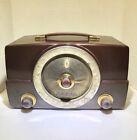 Vintage Zenith AM FM Tube Radio Model Y825 Bakelite? Works Well