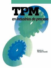 TPM en industrias de proceso, Suzuki, Tokutaro, Very Good condition, Book