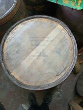 More details for jack daniels tennessee whiskey oak wooden barrel lid