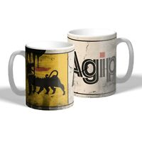 Agip Oil Mug Vintage Oil Can Effect Car Motorbike Mechanic Tea Coffee Mug Gift
