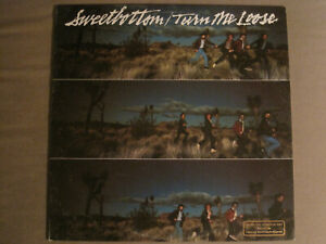 SWEETBOTTOM TURN ME LOOSE LP ORIG '79 ELEKTRA WHITE LABEL PROMO JAZZ ROCK VG+