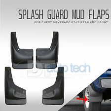 1999-2006 Silverado Mud Flaps Guards Splash Flares 4 Piece Front & Rear