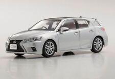 Lexus CT200h F Sport black/ platinum silver 1:43 Kyosho 03656PS2