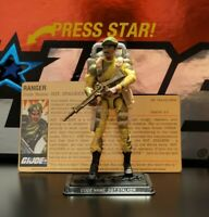GI Joe 25th Sgt. Stalker DVD Battles Box Set Loose 100% Complete