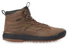 Vans Men's 9.5 ULTRARANGE EXO Hi MTE. Full Leather Brown Black. Trail Hiking