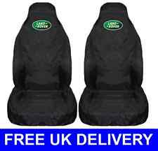 LAND ROVER PAIR OF SEAT COVERS PROTECTORS X2