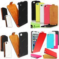 Housse Etui Coque Rabat Flip Clapet Pu Cuir Apple iPhone 6 Plus 5S 5 4S 4 +Film