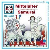 "WAS IST WAS ""FOLGE 18: MITTELALTER/SAMURAI"" CD HÖRBUCH NEU"