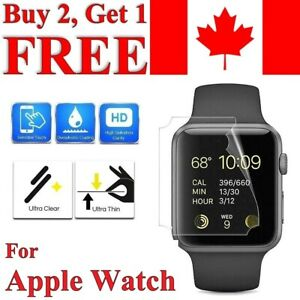 Premium Screen Protector Cover for Apple Watch Series 1 2 3 4 5 6 SE