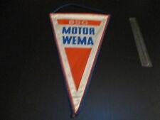 05081640 BSG Motor WEMA DDR Fußball Wimpel