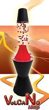 LED Large Erupting Volcano Lava Lamp Motion Wax Liquid Relax Light Novelty Gift