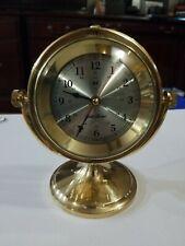 New ListingSeth Thomas - Schooner Clock/Chronometer - Model 1044 - Solid Polished Brass
