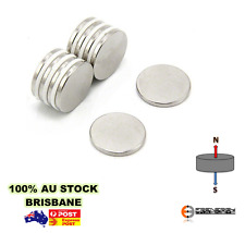 10x Strong 15mm X 2mm N42 Disc Magnets Neodymium Rare Earth | Fridge Craft Model