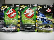 CADILLAC 1959 ECTO-1 GHOSTBUSTERS WHITE BLACK AMBULANCE JOHNNY LIGHTNING 1/64