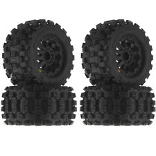 """Pro Line Badlands MX28 2.8"""" Traxxas Style Bead Tires Mounted F-11 Wheel (4)"""
