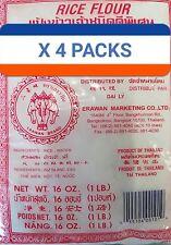 4 X Rice Flour 1lb Bag Free Shipping= (4 LB Total)