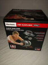 Fitness Ab Perfect Carver Pro Workout Abdominal Roller Wheel Exerciser