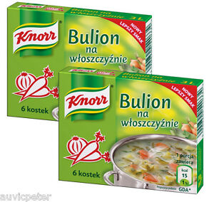 2x Knorr Vegetable Stock Cubes, Preservatives Free