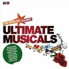 NEW World's Biggest Ultimate Musicals (Audio CD)
