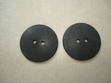 LOT OF***44**BLACK*MATTE COAT BUTTONS-*7/8IN*