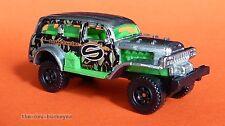 2012 Matchbox Loose Jungle Crawler Zamac Silver Snake Hunter Brand New Cool