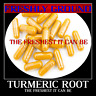 TURMERIC ROOT Powder The Freshest It Can Be 100 Capsules Tumeric - Curcuma Longa