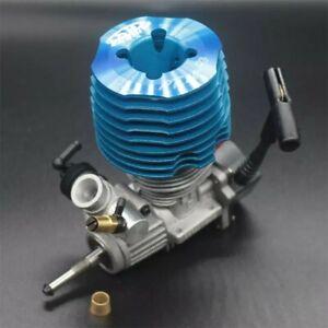 HSP 1/8  Buggy/Monster Nitro Engine. Pull start Blue SH28.M28-P3. 4.57cc. 3.8hp.