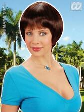 Ladies Short Brown Bob Wig Desperate Housewives Celebrity Fancy Dress