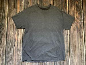 Men's Lululemon Purple Metal Vent Short Sleeve Shirt Top Athletic Shirt Size XL
