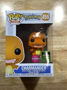 Funko Pop! Charmander Flocked #455 ECCC Exclusive 2020 Limited Spring Edition