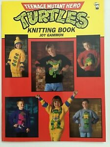 'Teenage Mutant Hero Turtles' Knitting Book Joyce Gammon Used