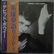 """DAVID BOWIE """"HEROES"""" 1977 JAPAN VINYL LP VERY GOOD CONDITION / TRÈS BEL ÉTAT"""