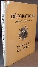 Administration Des Monnaies et Medailles: Decorations Officielles Francaises  Fi