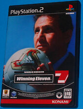 Winning Eleven 7 - Sony Playstation 2 PS2 Japan - JAP